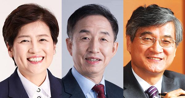 왼쪽부터 강은희·김사열·홍덕률 대구시교육감 후보.jpeg
