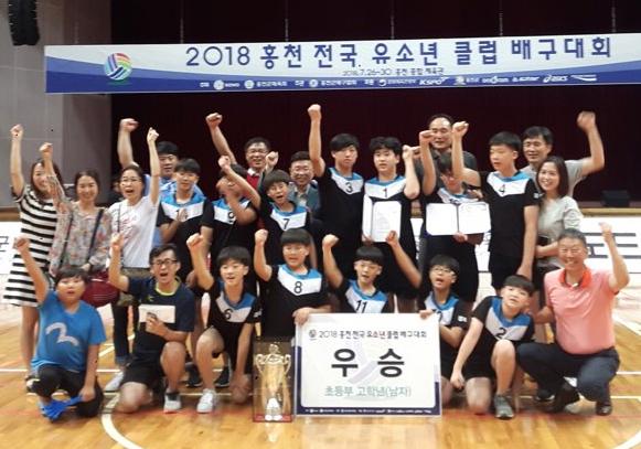 경주 금장초등학교 배구클럽 선수들.jpg