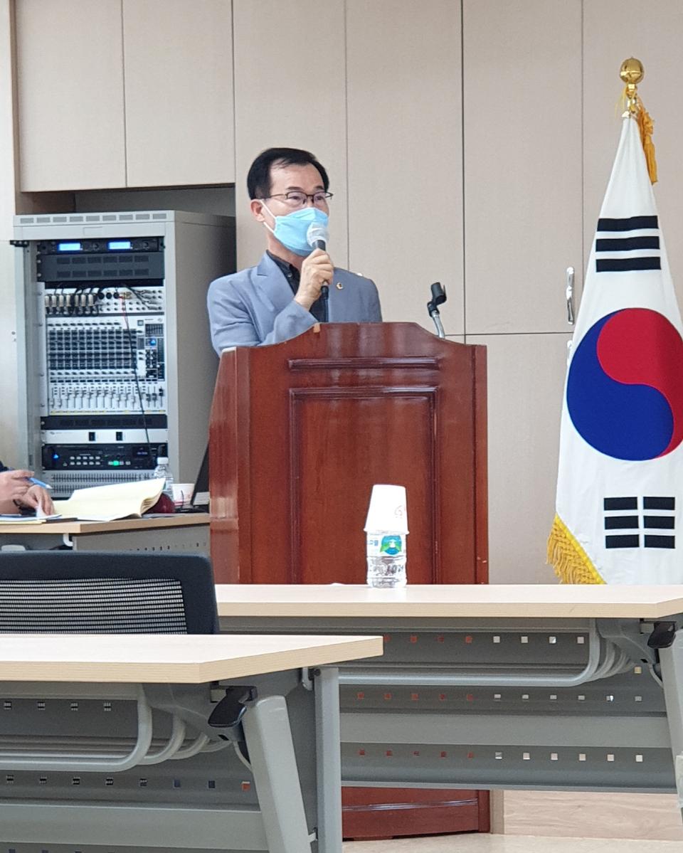 김성진 경북도의원, 지방소멸 위기 극복 위한 '분권 확대' 필요성 강조