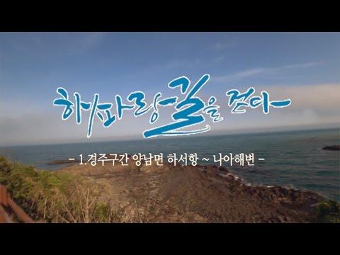 [해파랑길을 걷다] 1. 경주구간 하서항~나아해변 1.94km구간