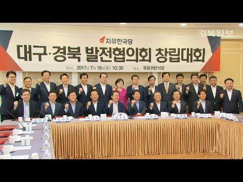 [영상] 자유한국당 '대구·경북 발전협의회' 출범
