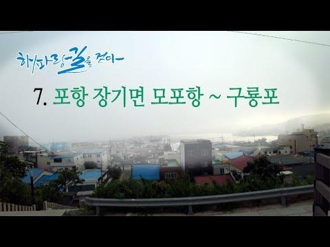 [해파랑길을 걷다] 7. 포항 장기면 모포항 ~ 구룡포 구간