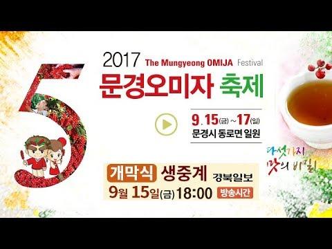 2017 문경오미자축제 개막식 생중계