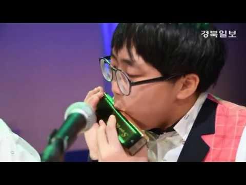 [영상] 맑은소리하모니카연주단, 대마도 공연 '감동 선사'