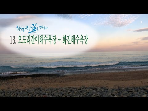 [해파랑길을 걷다] 13. 오도리간이해수욕장~화진해수욕장