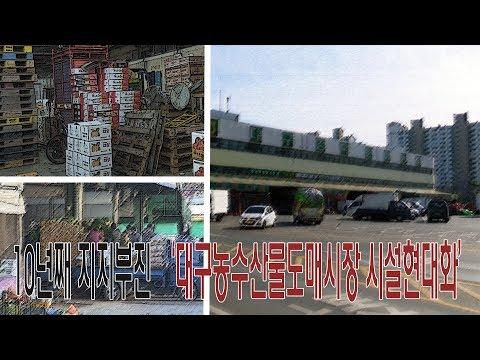 [영상]10년째 지지부진 '대구농수산물도매시장 시설현대화사업'