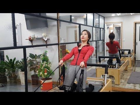 [3분 필라테스 시즌2][동절기 집중관리] 7.허벅지편 사이스트레치&닐링스쿼트