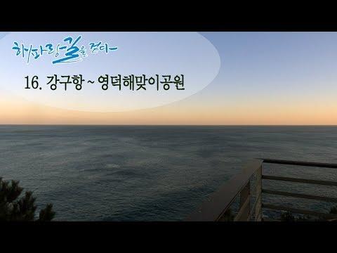 [해파랑길을 걷다] 16. 강구항~영덕해맞이공원