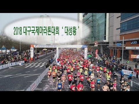 [영상] 2018 대구국제마라톤대회 '대성황'