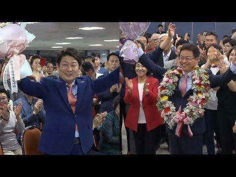 [영상] 경북도지사 이철우 · 대구시장 권영진 당선