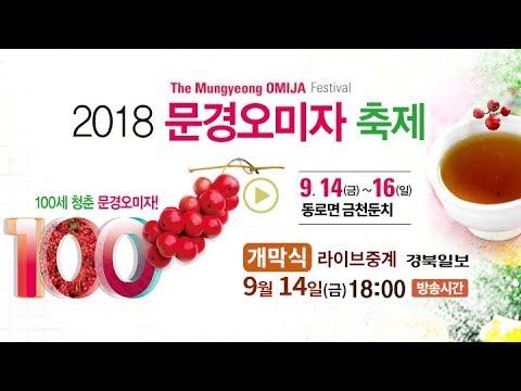 2018 문경오미자축제 개막식 라이브중계
