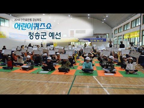 [풀영상]2018안전골든벨 경상북도어린이퀴즈쇼- 청송군예선