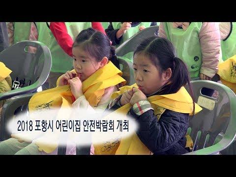 [영상]2018 포항시 어린이집 안전박람회 개최